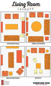 LAYOUTS RECTANGULAR SITTING ROOMS  Furniture Layout Sitting - Feng shui family room