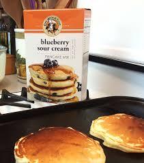 blueberry pancake recipe national blueberry pancake day carman brook farm