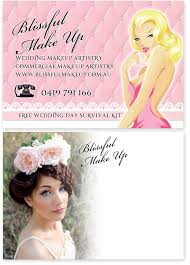 Makeup Artist Quotes For Business Cards Boutique Graphic Design For Print Portfolio Miss Blossom Design