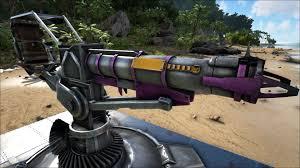 rocket turret official ark survival evolved wiki