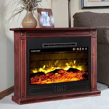 Amish Electric Fireplace Electric Fireplaces Electric Fireplace Heaters Heat Surge