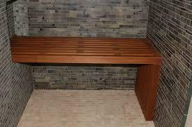 beautiful teak shower bench furniture in bathroom ange o 2017 and