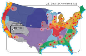 map us las vegas las vegas 1 safest cities in usa from disaster