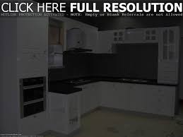 White Kitchen Cabinets With Dark Countertops Interior Design Kitchens Small Open Kitchen Idea With Modern Black