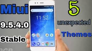themes android paling bagus top 5 unexpected themes for miui 9 5 4 0 stable xiaomi redmi note