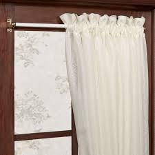 Curtain Door Panels Expandable Sash Curtain Rod 18