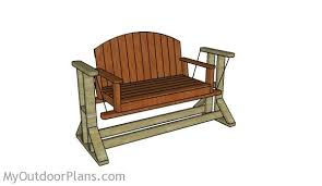glider swing plans myoutdoorplans free woodworking plans and