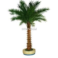outdoor uv protection artificial palm tree dongyi