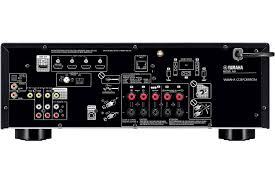 small home theater receiver yamaha black 5 1 channel network av receiver rx v483bl