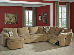 La Z Boy Dawson Casual by Collins By La Z Boy Reclining Sectional With Sleeper An Chaise