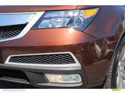 2011 ionized bronze metallic acura mdx advance 63450477 photo 30