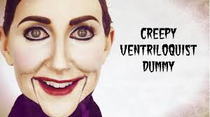 creepy ventriloquist dummy a halloween tutorial youtube