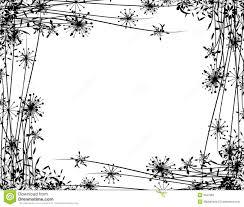 winter flower garden border stock photos image 3567983