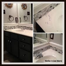 bathroom mosaic tiles backsplash sheets black splash tile black