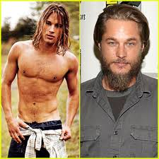 travis fimmel hair for vikings travis fimmel from calvin klein model to vikings star george