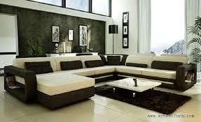 Leather U Shaped Sofa Elegant U Shaped Sofa With Moden New Design Top Grain Cattle