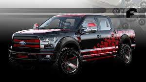 future ford f150 custom ford f 150 pickups ready to storm sema