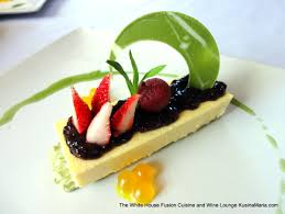 fusion cuisine yamamomo cheesecake by the white house fusion cuisine and wine