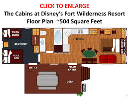 125 different rooms wilderness walt disney and forts