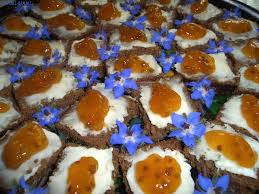 rye bread canapes nami nami a food picking cloudberries in estonia
