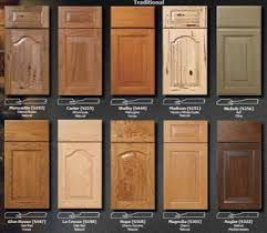 Cabinet Wood Doors Door Styles Classic Kitchen Cabinet Refacing