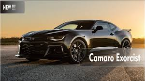 newest camaro the exorcist 1000 hp zl1 camaro by hennessey