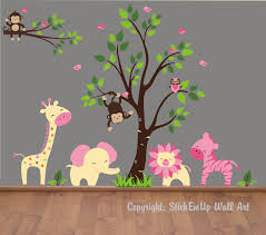 baby wall decals nursery monkey decal baby wall decals nursery monkey decal