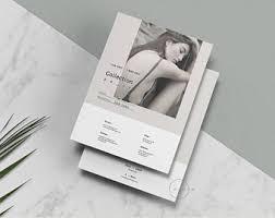 portfolio u0026 magazine psd template lookbook template for