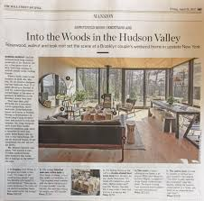 Home Journal Interior Design Lang Architecture U2013 Wall Street Journal Features Hudson Woods Home