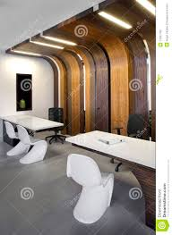 Beautiful And Modern Office Interior Design Stock Photo Image - Modern office interior design