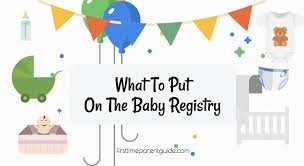 baby registries online what to put on the baby registry a practical list