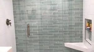 Glass Tiles Bathroom Ideas Improbable Glass Tiles Bathroom Ideas Subway Glass Tile Bathroom