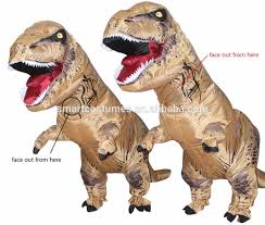 T Rex Costume Inflatable T Rex Costume Giant T Rex Dinosaur Costume