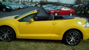 mitsubishi eclipse spyder 2015 mitsubishi eclipse spyder gt youtube