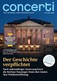 K Hen Bestellen Online Concerti Ausgabe Berlin U0026 Brandenburg Juni 2016 By Concerti Das