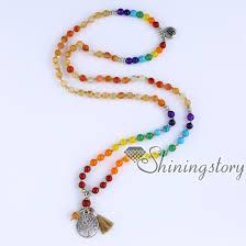 wholesale beaded necklace images Chakra necklace 108 mala bead necklace 7 chakra bead necklaces jpg