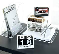 Contemporary Desk Organizers Designer Office Desk Accessories For Your Conference Table All And