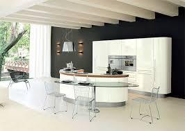 cuisine arrondi cuisines cuisine avec ilot central forme arrondie la cuisine avec