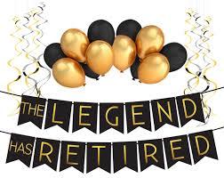 the legend has retired hat retirement