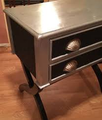 Painted Accent Table Craigslist Artisan Painted Accent Table Has It All Craigslist