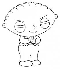 free printable family guy coloring pages kids cartoon
