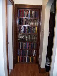 bookcase door that replaces your door 7 steps with pictures