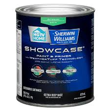 Exterior Paint Lowes - shop hgtv home by sherwin williams showcase tintable satin latex