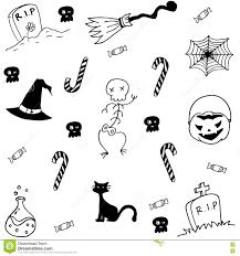 wholesale halloween candy halloween doodle stock vector 121779055 shutterstock doodle of