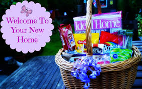 the syders thrifty gift basket idea welcome to your new home