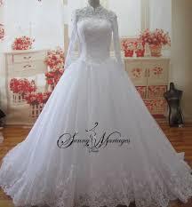 robe mariã e manche longue robe de mariee princesse en dentelle avec manche longue