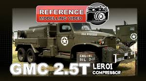 gmc 2 5t u0026 leroi compressor modelling video walkaround