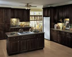 Dark Espresso Kitchen Cabinets Jdssupply Com Lacerise By Armstrong Cabinets