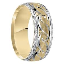 unique mens wedding band tayloright dublin 10k gold 6mm wedding band at mwb