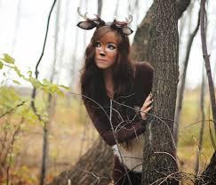 Deer Antlers Halloween Costume Diy Deer Costume Step Step Soooo Awesome